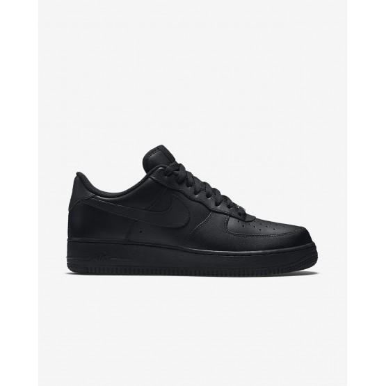 Sapatilhas Casual Nike Air Force 1 Homem Pretas 315122-001