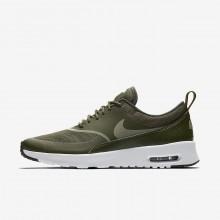 Nike Air Max Thea Lifestyle Shoes Womens Cargo Khaki/Black/Dark Stucco 599409-310