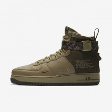 Nike SF Air Force 1 Lifestyle Shoes Mens Neutral Olive/Cargo Khaki 917753-201