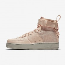 Zapatillas Casual Nike SF Air Force 1 Mujer Naranjas/Gris AA3966-800