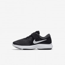 Nike Revolution 4 Running Shoes Girls Black/Anthracite/White 943305-006