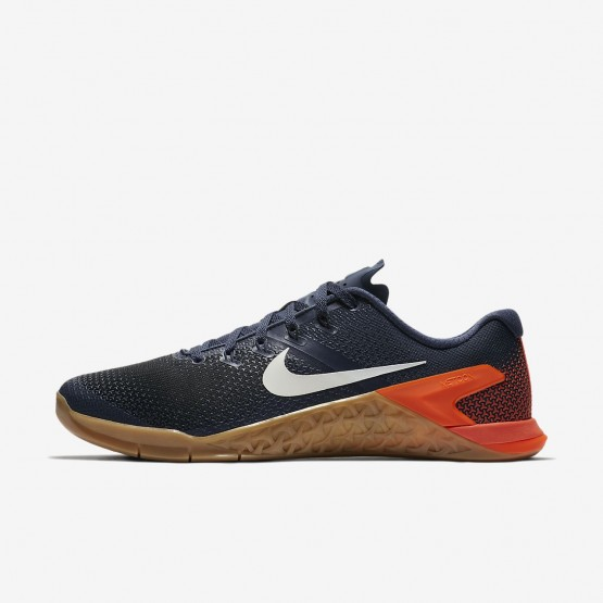 Nike Metcon 4 Training Shoes Mens Thunder Blue/Black/Hyper Crimson/White AH7453-401