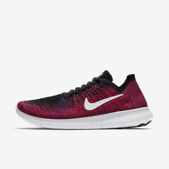 Chaussure Running Nike Free RN Garcon Noir/Rouge/Platine 881973-004