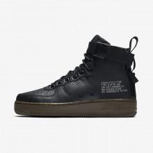 Nike SF Air Force 1 Lifestyle Shoes Womens Black/Dark Hazel AA3966-003