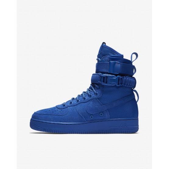 Zapatillas Casual Nike SF Air Force 1 Hombre Azul Real 864024-401