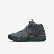 Chaussure de Basket Nike Kyrie 4 Garcon Argent/Metal Doré AA2897-001