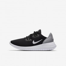 Nike Hakata Lifestyle Shoes Boys Black/Wolf Grey/White AO1242-002