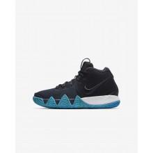 Chaussure de Basket Nike Kyrie 4 Garcon Obsidienne Foncé/Noir AA2897-401