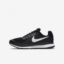 Nike Zoom Pegasus Running Shoes Boys Black/Dark Grey/Anthracite/White 881953-002