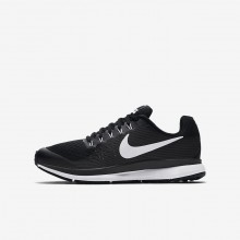 Nike Zoom Pegasus Laufschuhe Jungen Schwarz/DunkelGrau/Weiß 881953-002