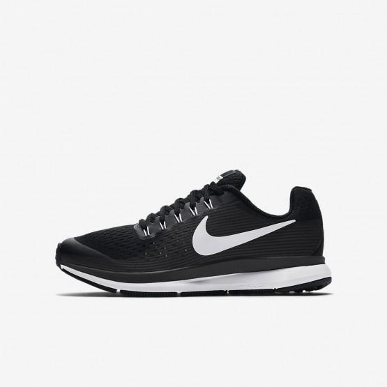 Chaussure Running Nike Zoom Pegasus Garcon Noir/Grise Foncé/Blanche 881953-002