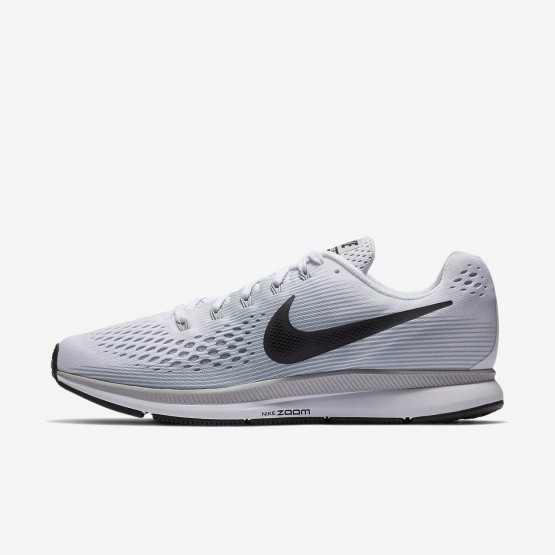 Chaussure Running Nike Air Zoom Homme Blanche/Platine/Grise 880555-103