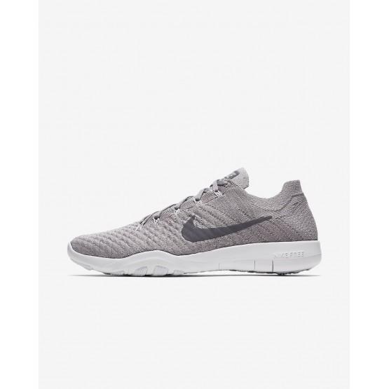 Chaussure De Sport Nike Free TR Femme Grise/Blanche 904658-016
