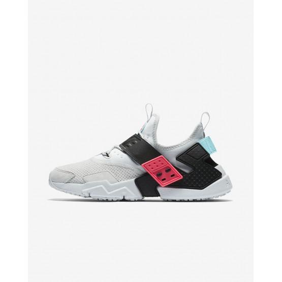 Zapatillas Casual Nike Air Huarache Hombre Plateadas/Rosas/Negras AH7335-003