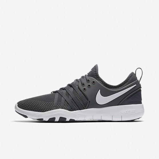 Nike Free TR Training Shoes Womens Dark Grey/White 904651-002