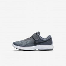 Nike Revolution 4 Running Shoes Girls Dark Grey/Cool Grey/White/Black 943305-005