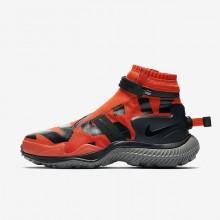 Nike Gaiter Lifestyle Shoes Mens Team Orange/Tumbled Grey/Black AA0530-800