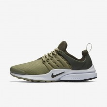Nike Air Presto Lifestyle Shoes Mens Neutral Olive/Cargo Khaki/Black 848187-201