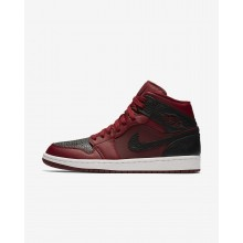 Air Jordan 1 Lifestyle Shoes Mens Team Red/Summit White/Gym Red 554724-601