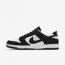 Nike SB Dunk Skateboarding Shoes Mens Black/Barely Green/White 854866-003