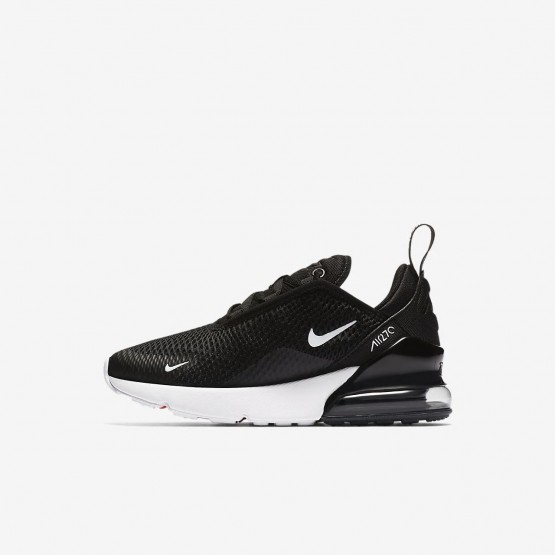 Zapatillas Casual Nike Air Max 270 Niño Negras/Blancas AO2372-001