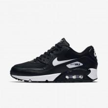 Zapatillas Casual Nike Air Max 90 Mujer Negras/Blancas 325213-047