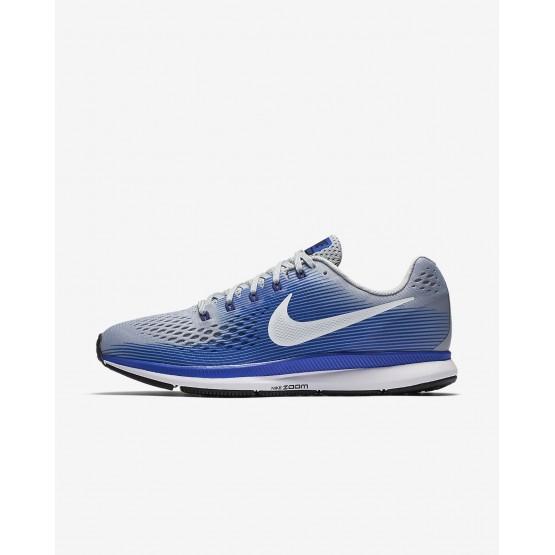 Zapatillas Running Nike Air Zoom Hombre Gris/Azules/Azul Oscuro Real Azules/Blancas 880555-007