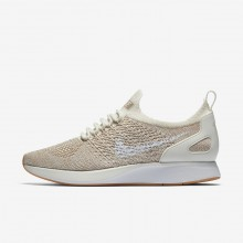 Nike Air Zoom Lifestyle Shoes Womens Sail/Sand/Gum Yellow/White AA0521-100