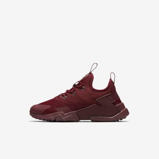 Nike Huarache Lifestyle Shoes Boys Team Red/White AA3503-600