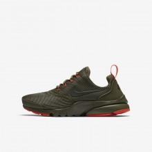Zapatillas Casual Nike Presto Fly Niño Verde Oliva 913966-203