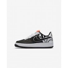 Nike Air Force 1 Lifestyle Shoes Boys Black/White 820438-014