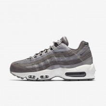 Chaussure Casual Nike Air Max 95 Femme Grise/Blanche AA1103-003