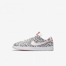 Chaussure Casual Nike Blazer Garcon Blanche/Noir AO1034-100