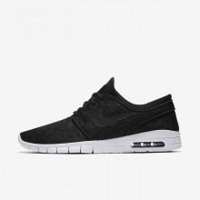 Nike SB Stefan Janoski Max Skateboarding Shoes Mens Black/White 631303-022
