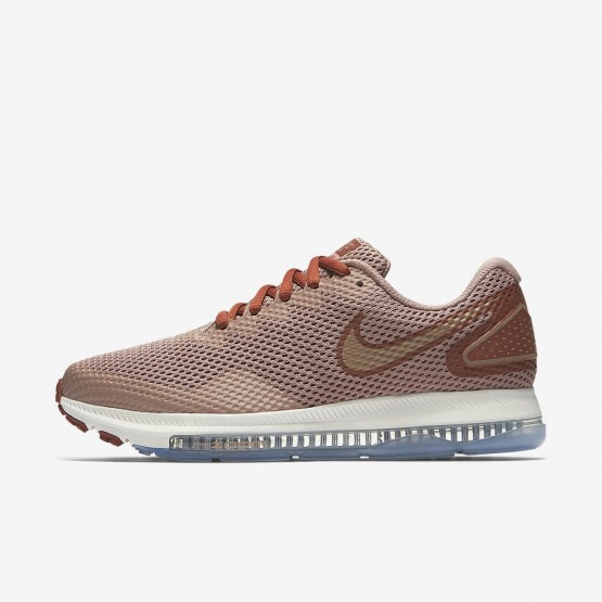Nike Zoom All Out Running Shoes Womens Dusty Peach/Particle Pink/Metallic Red Bronze AJ0036-200