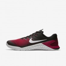Nike Metcon 4 Training Shoes Mens Black/Hyper Crimson/Habanero Red/Vast Grey AH7453-002