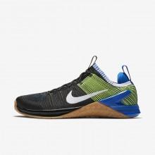 Nike Metcon DSX Training Shoes Mens Black/Racer Blue/Volt/White 924423-006