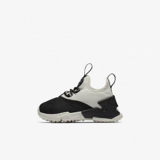 Chaussure Casual Nike Huarache Fille Noir/Blanche AA3504-002