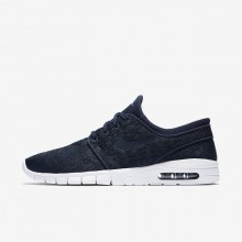 Nike SB Stefan Janoski Max Skateboarding Shoes Mens Obsidian/Mineral Gold 631303-447