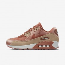 Chaussure Casual Nike Air Max 90 Femme Beige/Blanche 898512-201