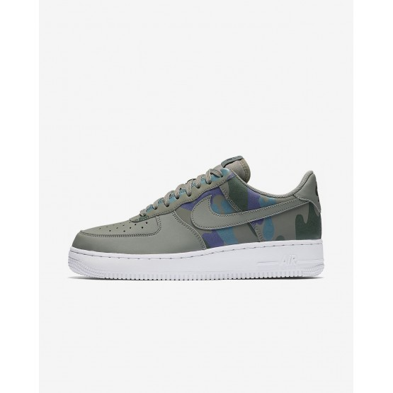 Nike Air Force 1 Lifestyle Shoes Mens Dark Stucco/Dark Raisin/Vintage Green 823511-008