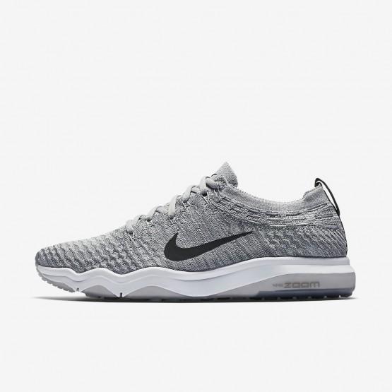 Chaussure De Sport Nike Air Zoom Femme Grise/Blanche 922872-002