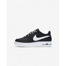 Nike Air Force 1 Lifestyle Shoes Boys Black/White 820438-015