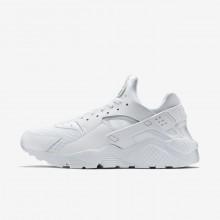Chaussure Casual Nike Air Huarache Homme Blanche/Platine 318429-111