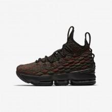 Chaussure de Basket Nike LeBron 15 Garcon Noir 943762-900