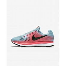 Nike Air Zoom Running Shoes Womens Racer Pink/Mica Blue/Sport Fuchsia/White 880560-406