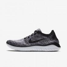 Nike Free RN Running Shoes Womens White/Black 942839-101