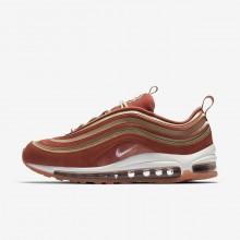 Nike Air Max 97 Lifestyle Shoes Womens Dusty Peach/Bio Beige/Summit White AH6805-200