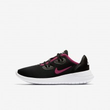 Nike Hakata Lifestyle Shoes Girls Black/White/Rush Pink AO1244-002