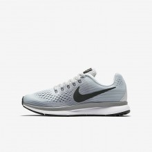 Nike Zoom Pegasus Running Shoes Boys Pure Platinum/Cool Grey/Wolf Grey/Anthracite 881953-004
